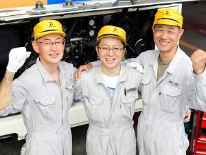 相鉄バス株式会社 (相鉄グループ)/バス整備士/残業15時間程度&有休取得率100%!安定企業で仕事もプライベートも充実!