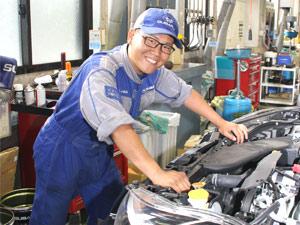 名古屋スバル自動車株式会社/スバル正規ディーラーの整備士/定着率9割以上/手当充実/週休2日制/転居を伴う転勤なし/マイカーOK