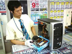 アプライド株式会社/JASDAQ上場企業/パソコン設定、修理受付などを行う店舗パソコンテクニカルスタッフ/業界・職種経験不問/雇用形態を選べる