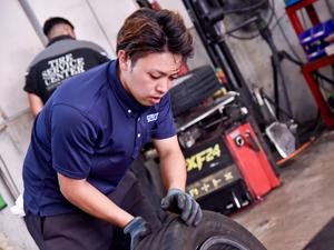 株式会社タイヤーサービスセンター/若手が働きやすい安定企業でのタイヤ交換・配送スタッフ(ピットスタッフ)/定着率97%・福利厚生充実