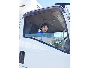 石井商事運輸株式会社/週休2日制のドライバー/経験・年齢不問/中型・大型免許は資格支援制度で取得可能/福利厚生充実