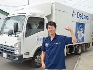 デラバル株式会社(DeLaval K.K.)<デラバルグループ>/ルート営業スタッフ(経験不問◆お取引先への自社製品の訪問営業です)