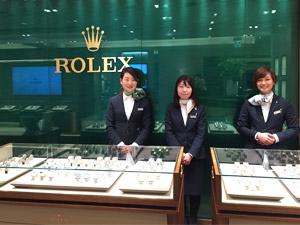 グロリアス株式会社 (栄光ホールディングス株式会社 100%出資)/ロレックス正規品ショップの販売スタッフ