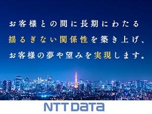 NTTデータグループ合同募集/総合職/ITエンジニア(アプリ・インフラ)、営業、事務など、様々なポジションをご用意しています。