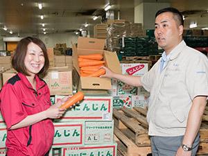 横浜市場センター株式会社(横浜丸中青果グループ)/三井物産出資の求人情報