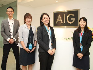 AIG損害保険株式会社/市場拡大を担う代理店開拓営業/固定月給34万円以上/土日祝休