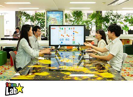 チームラボ株式会社/Webエンジニア【経験年数不問】多様なプロジェクトで企画段階から活躍する