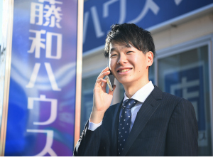 株式会社藤和ハウス/不動産の反響営業/完全週休2日制/年収1000万円以上も可能