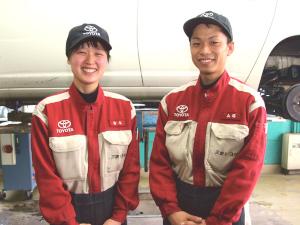 三重トヨタ自動車株式会社/整備士(扱う車はトヨタ・レクサス・フォルクスワーゲンなど)