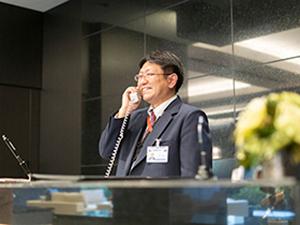 株式会社アイザワビルサービス/月10日程度の勤務!高級賃貸マンションのナイトフロント