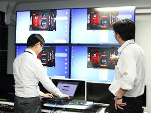 ATENジャパン株式会社/映像機器のサービスエンジニア/出張・残業少なめ/休日120日