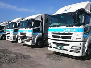 宇和島自動車運送株式会社/(1)大型車ドライバー(2)〜(4)4t車ドライバー