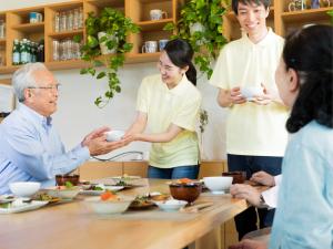 社会福祉法人札幌蒼生会/入居者サポートスタッフ/ゆっくりした時間が流れる介護施設