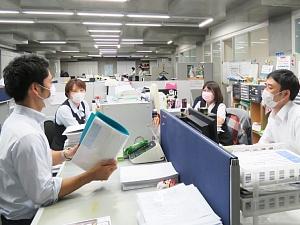 株式会社テスク/管理業務スタッフ/高い定着率/残業少/北海道からの転勤なし