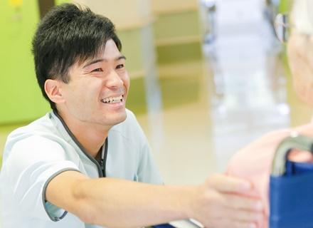 医療法人社団元気会 横浜病院/ケアキャスト(看護助手)月給27.2万以上/未経験からチームの一員に!/有休取得率約8割