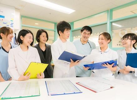 医療法人社団元気会 横浜病院/ケアキャスト/未経験から医療チームの一員に/月給27.2万以上/研修充実