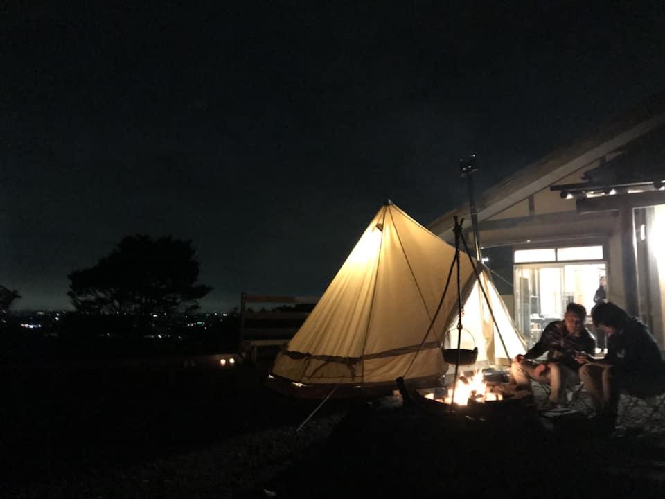 テント泊の写真