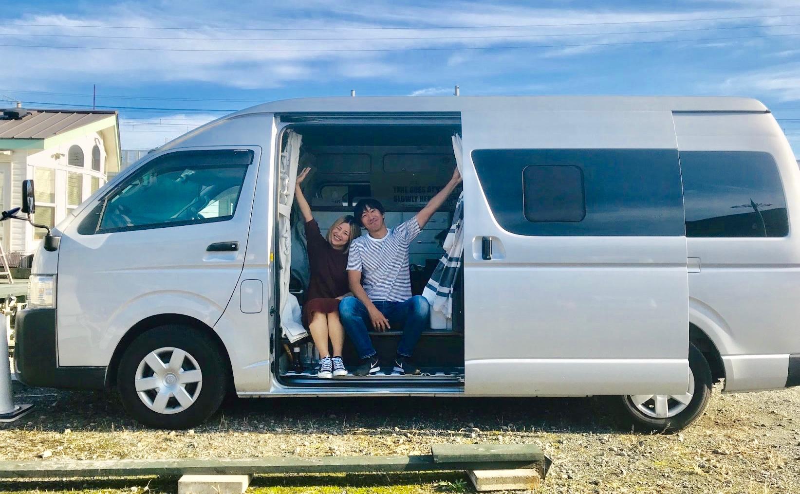 琵琶湖近くでトレーラーハウスに囲まれて車中泊!「DenDenVillage」をミチトライフがご紹介