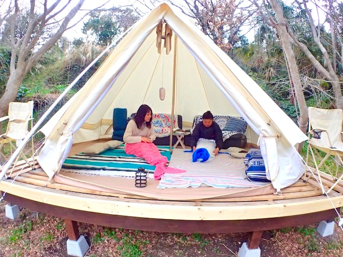 楽しい宿泊をご提案!手ぶらでお車だけで来てこのテントに泊まることも出来ます^^)ご相談ください!