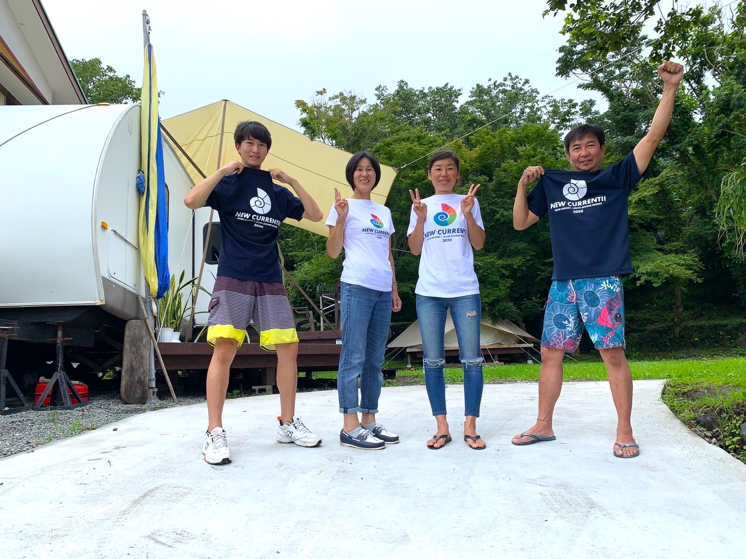 IZUMI RESORT スタッフたちです^^)