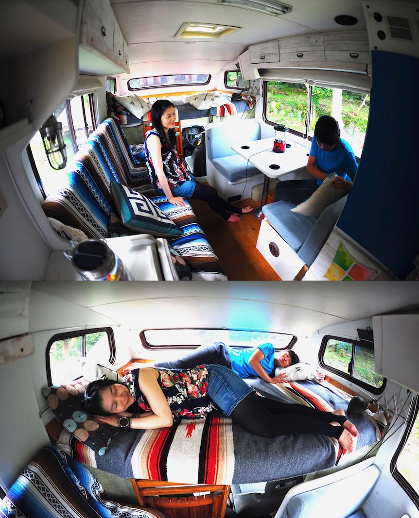 【1日限定1組】キャンピングカー宿泊出来ます!12000円/1泊。大人2人+子供2名ぐらいまで宿泊できます。テント泊も出来ます!(事前予約が必要です)