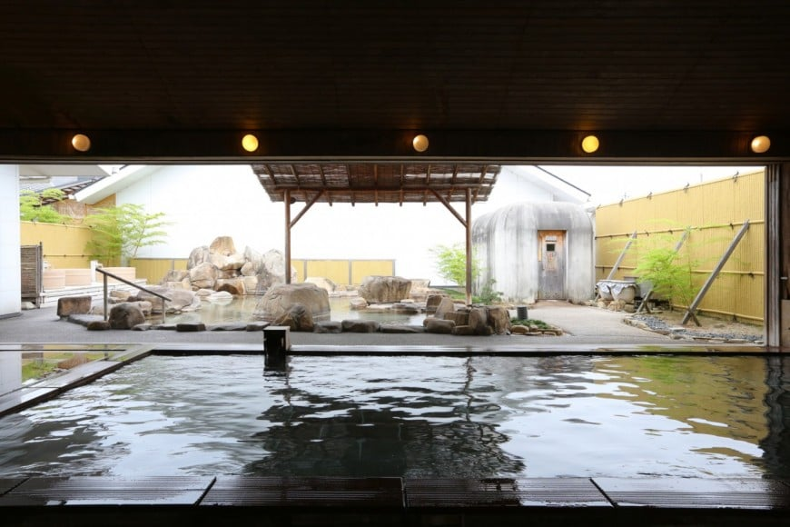 just 5 min you need to go Onsen