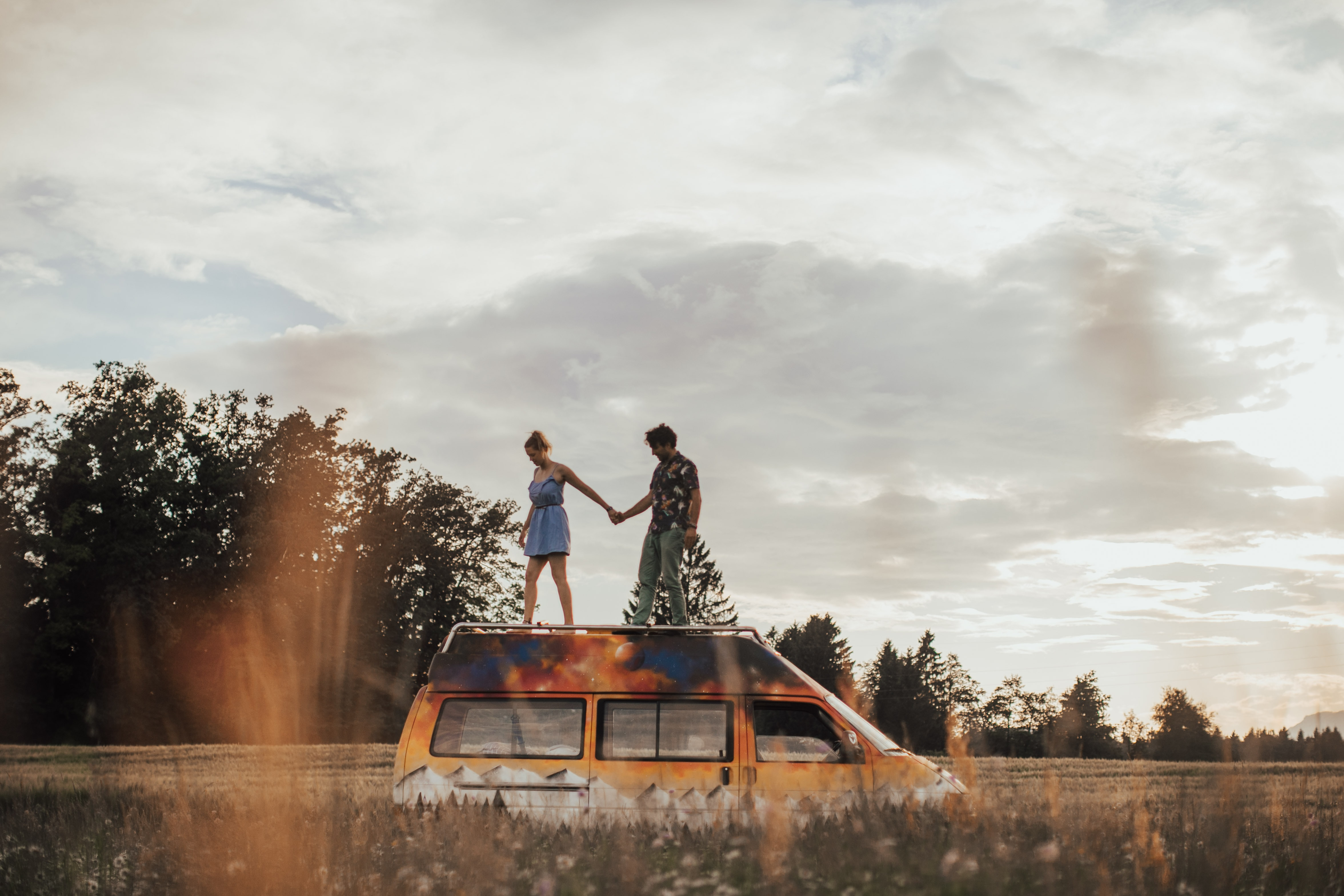 Why are young adults all over the world hooked on car camping and the vanlife?