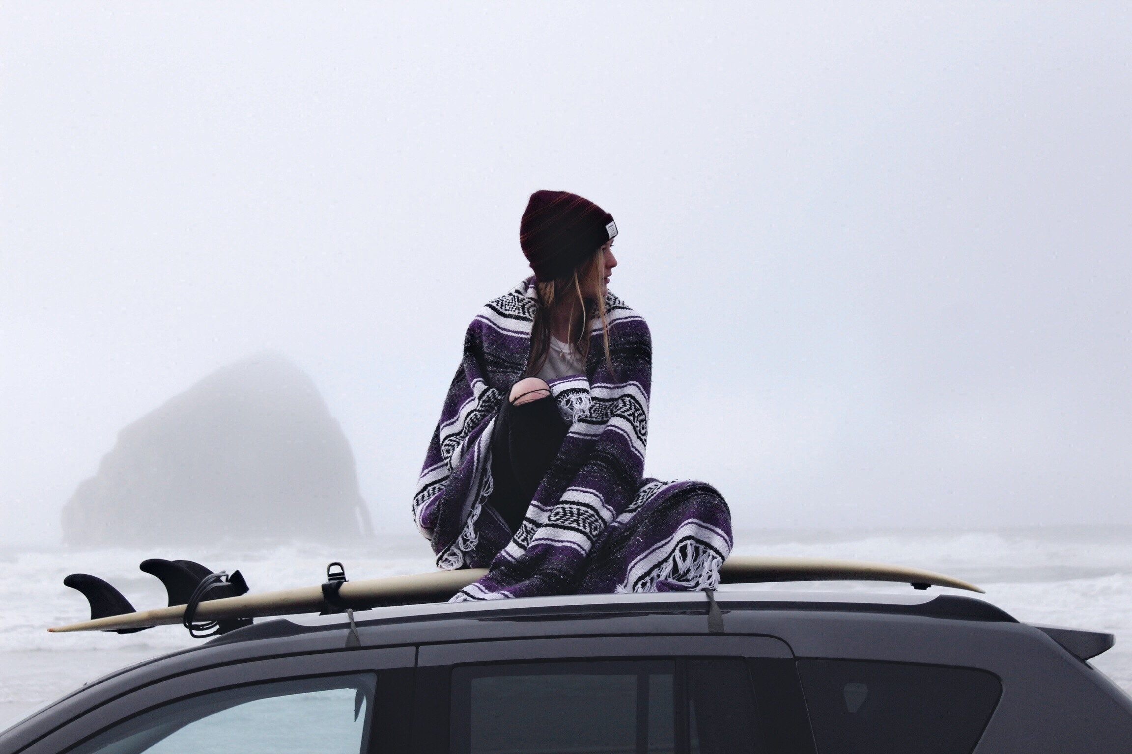 A Midwinter Car Camping Story of a 20-Something Hotel Fangirl