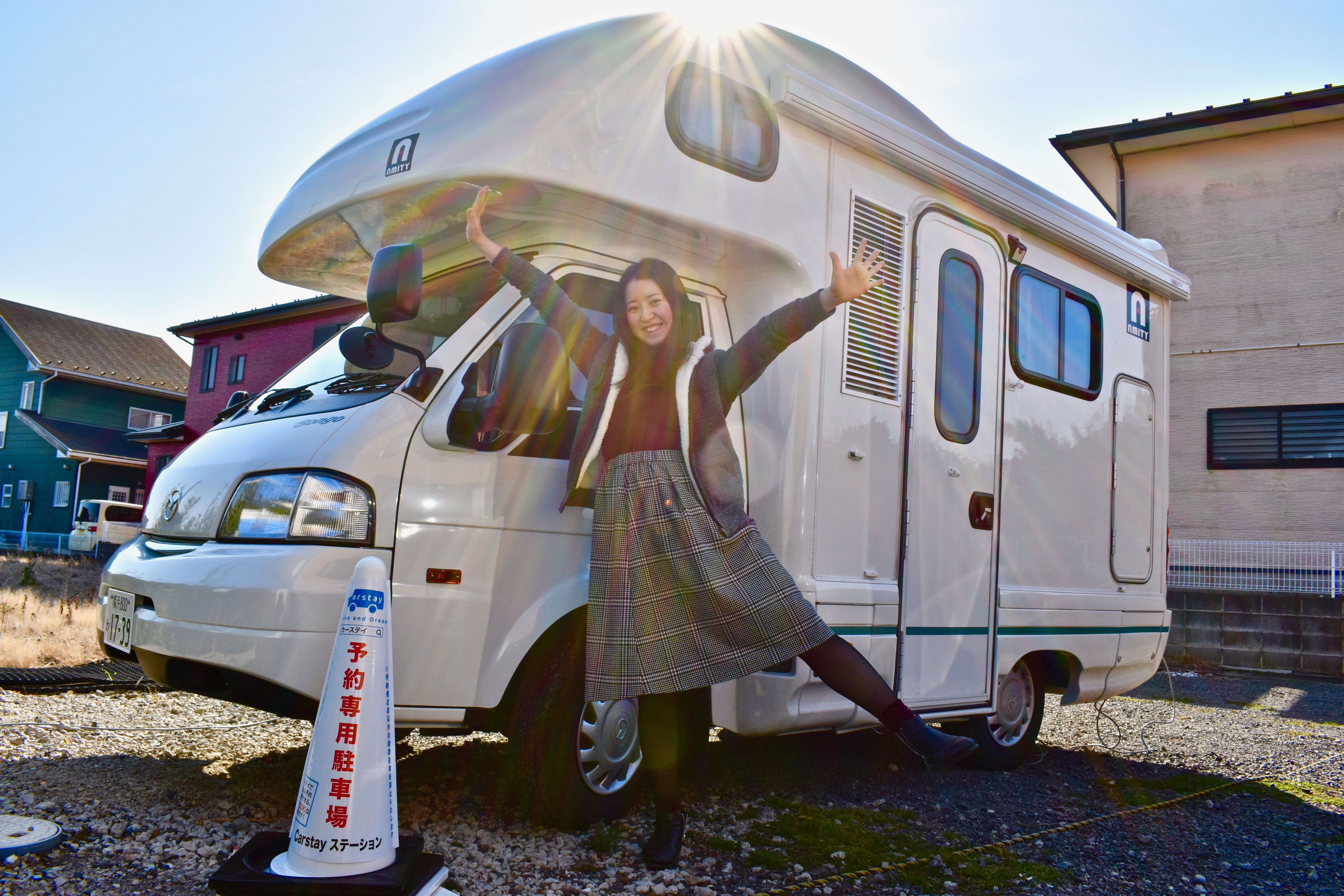"Car camping facility? A 20-something girl's Carstay experience at ""RV Park Miura"""