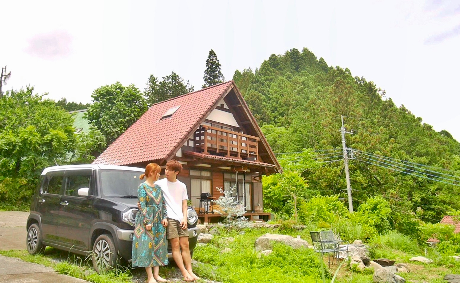 Eri-Taku Couple goes car camping at Naguri Fire Pit Garden in Hanno, Saitama