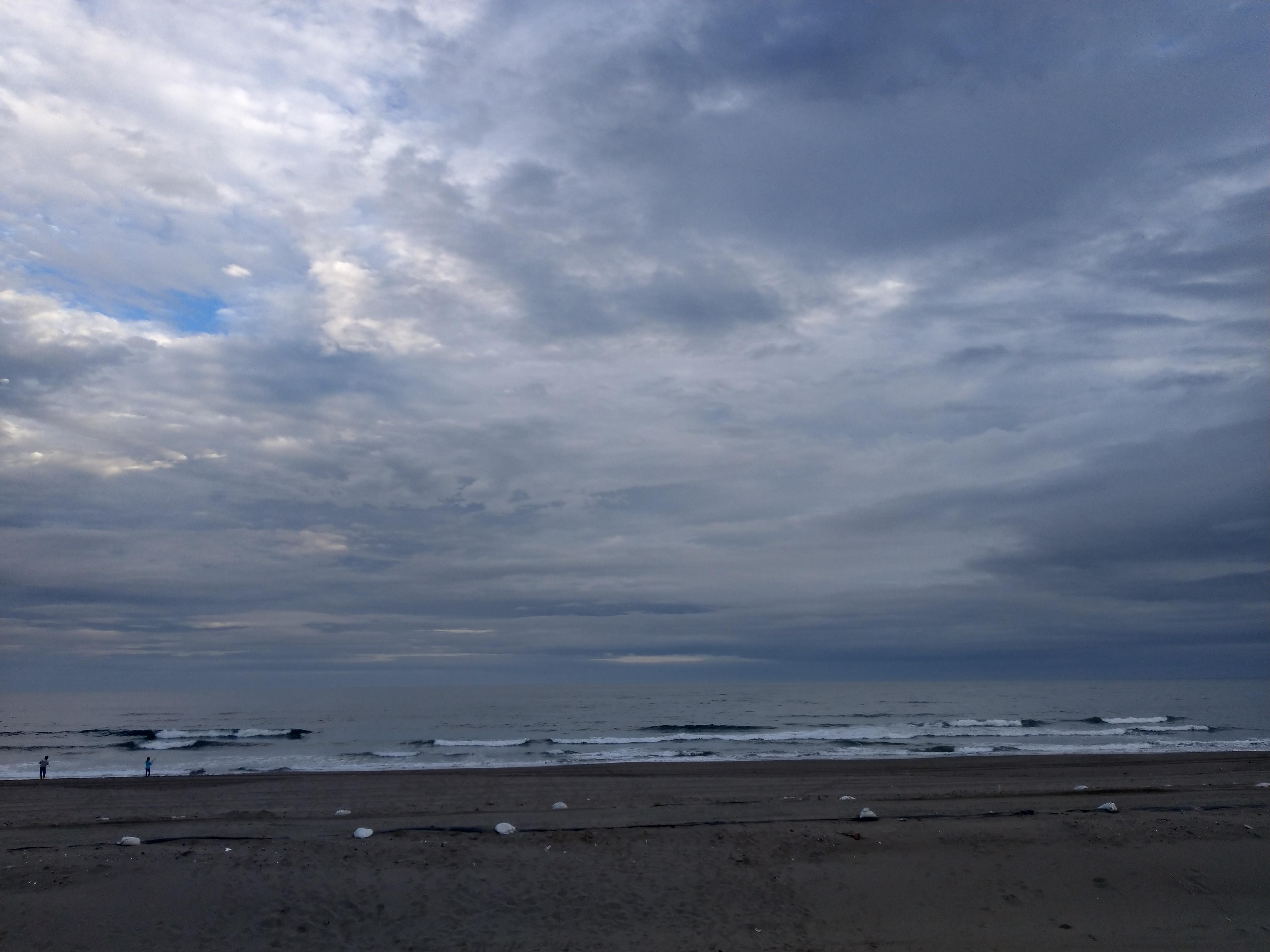 徒歩3分で九十九里浜です