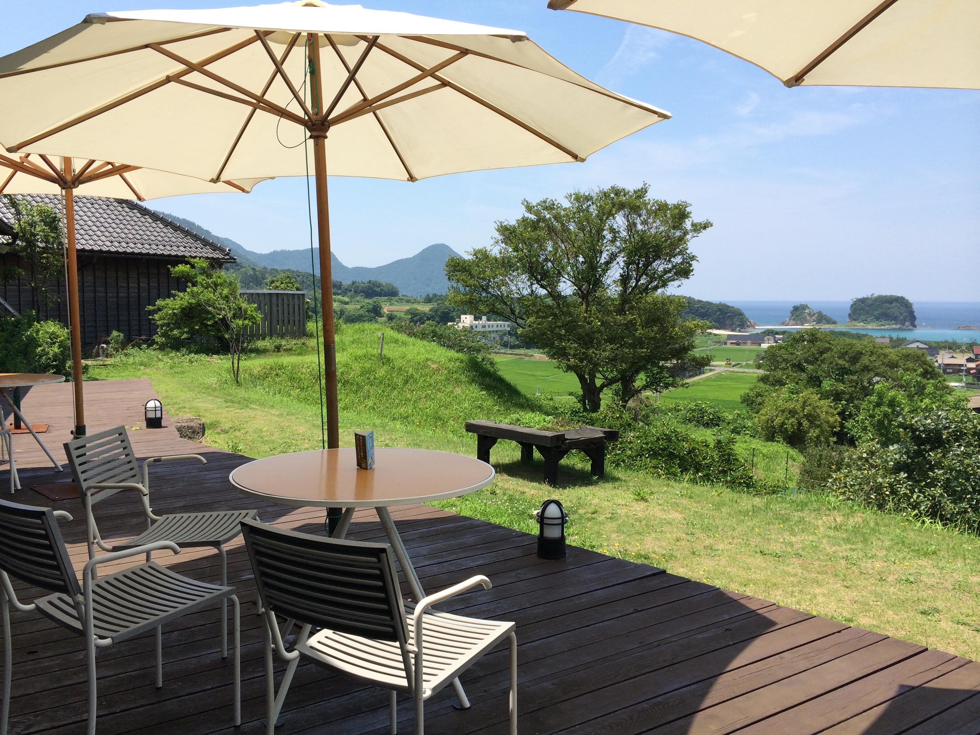 宇川温泉からの風景