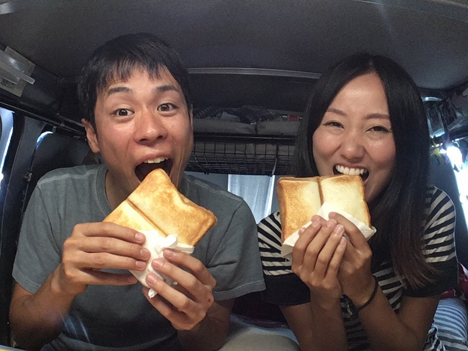 車中泊で簡単調理!車中飯をもっと楽しく美味しく〜ホットサンド編〜