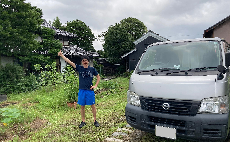 岐阜県で車中泊!築100年を超える古民家宿「ホニャラノイエ」にバンライフ夫婦のとおるんよしみんが行ってきた