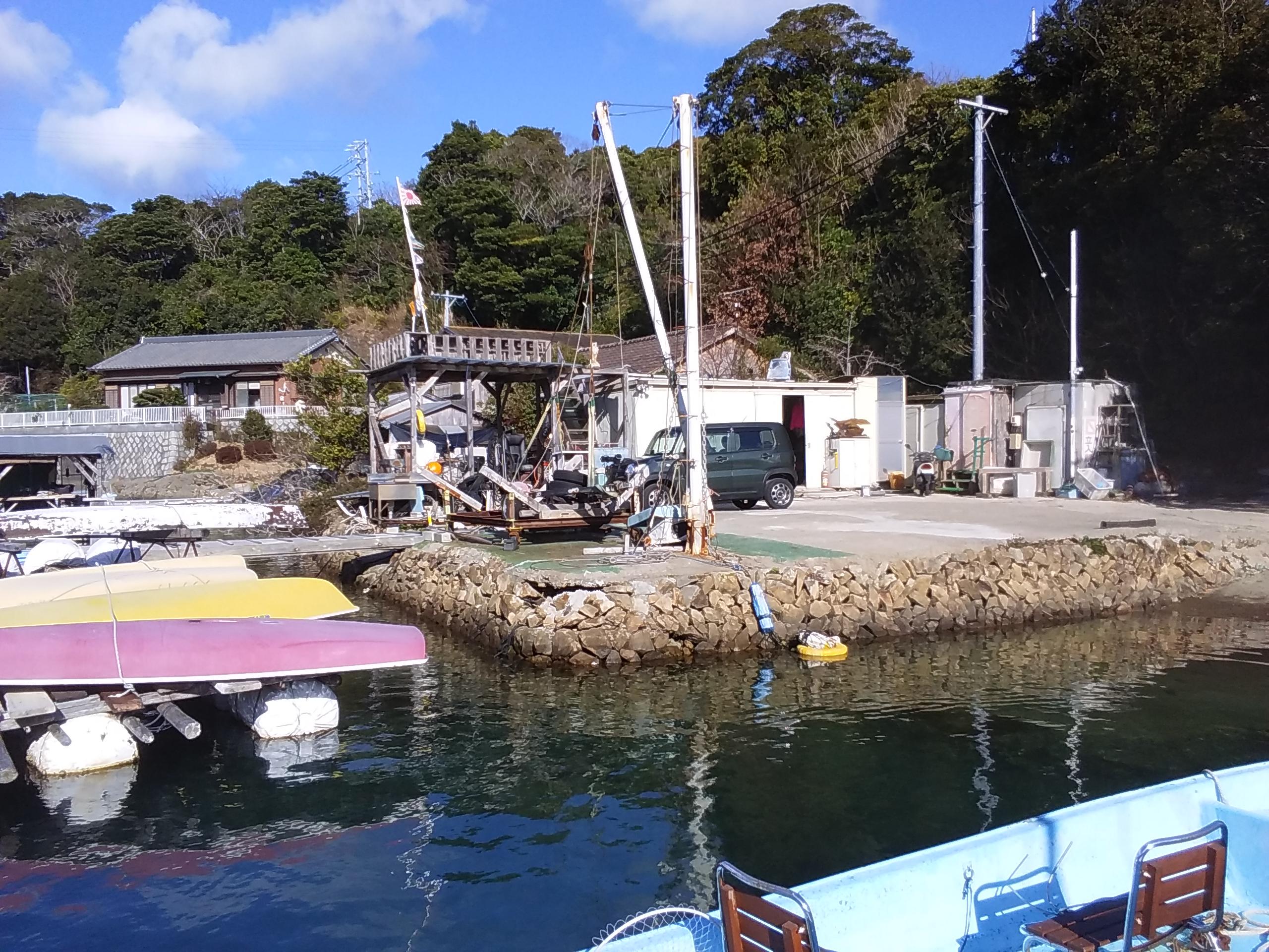 海のレジャー拠点に最適です。野村マリーナ会員であればボートレンタル出来ます。