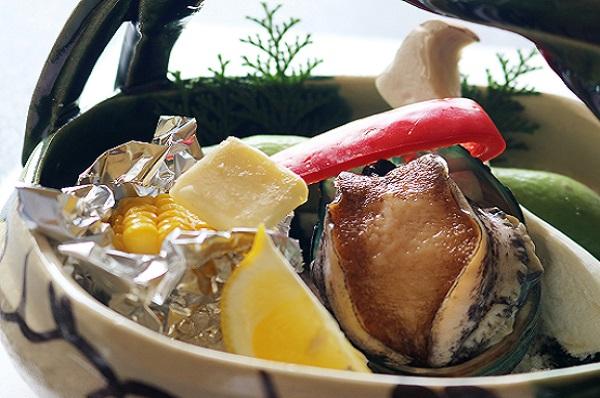 活鮑(ご夕食のグレードアップ商品)