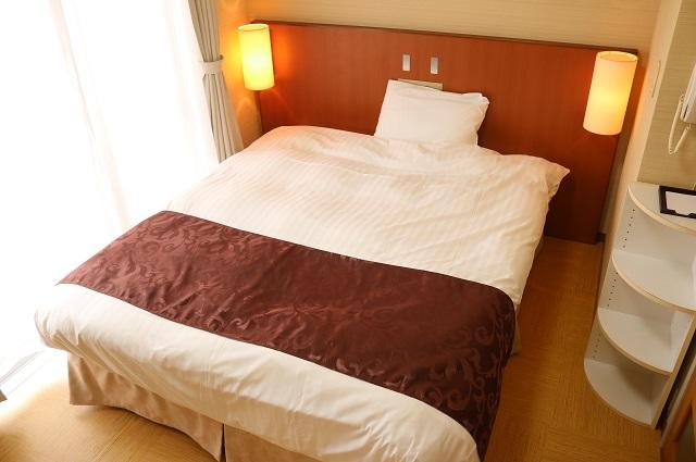 【ご宿泊部屋】ワイドダブルベッドのある和洋室B