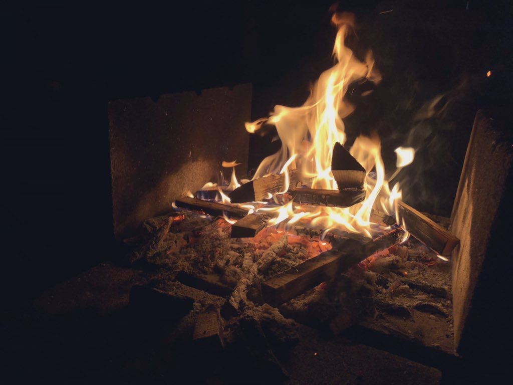 焚火台をお持ちいただければ焚火も楽しめます