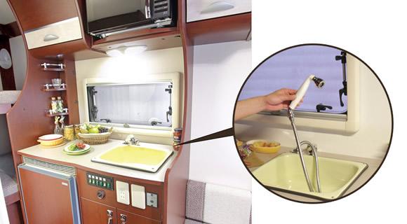 (7)キッチンスペース※EVOLITEタイプ