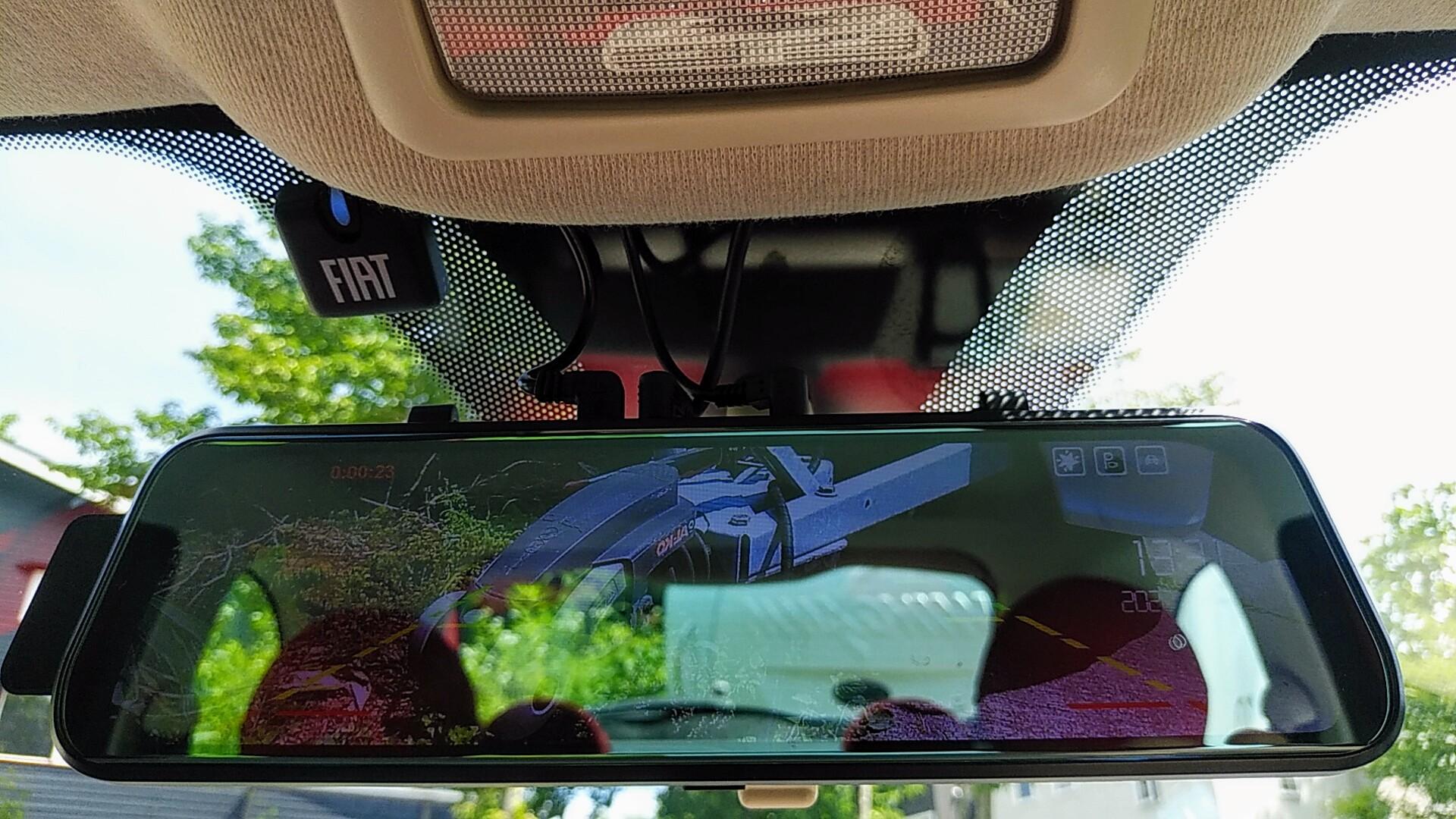 (10)内観(運転補助装備①ドライブレコーダーミラー(フロントカメラ&リアカメラ付))