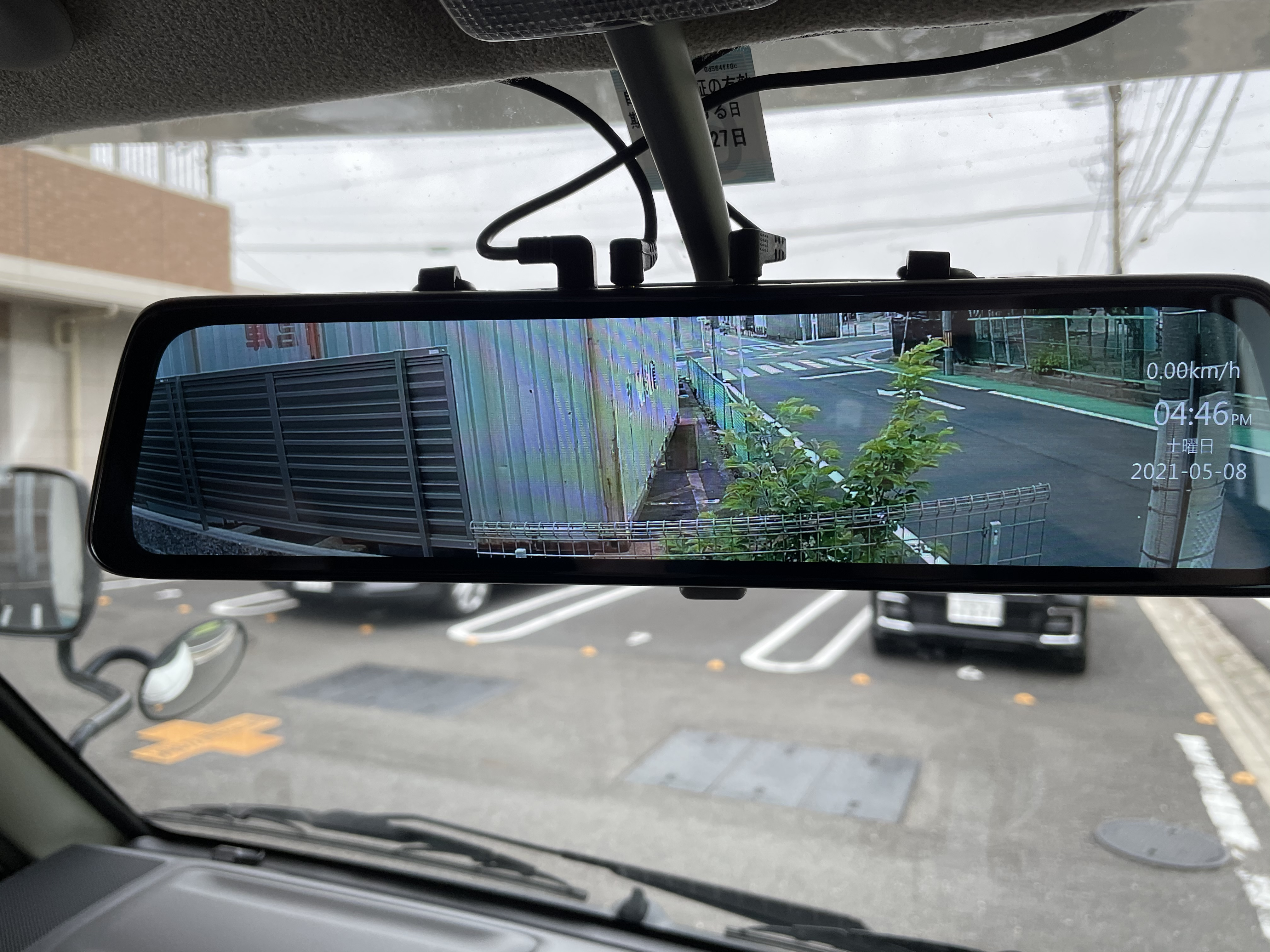 ドライブレコーダー バックモニター