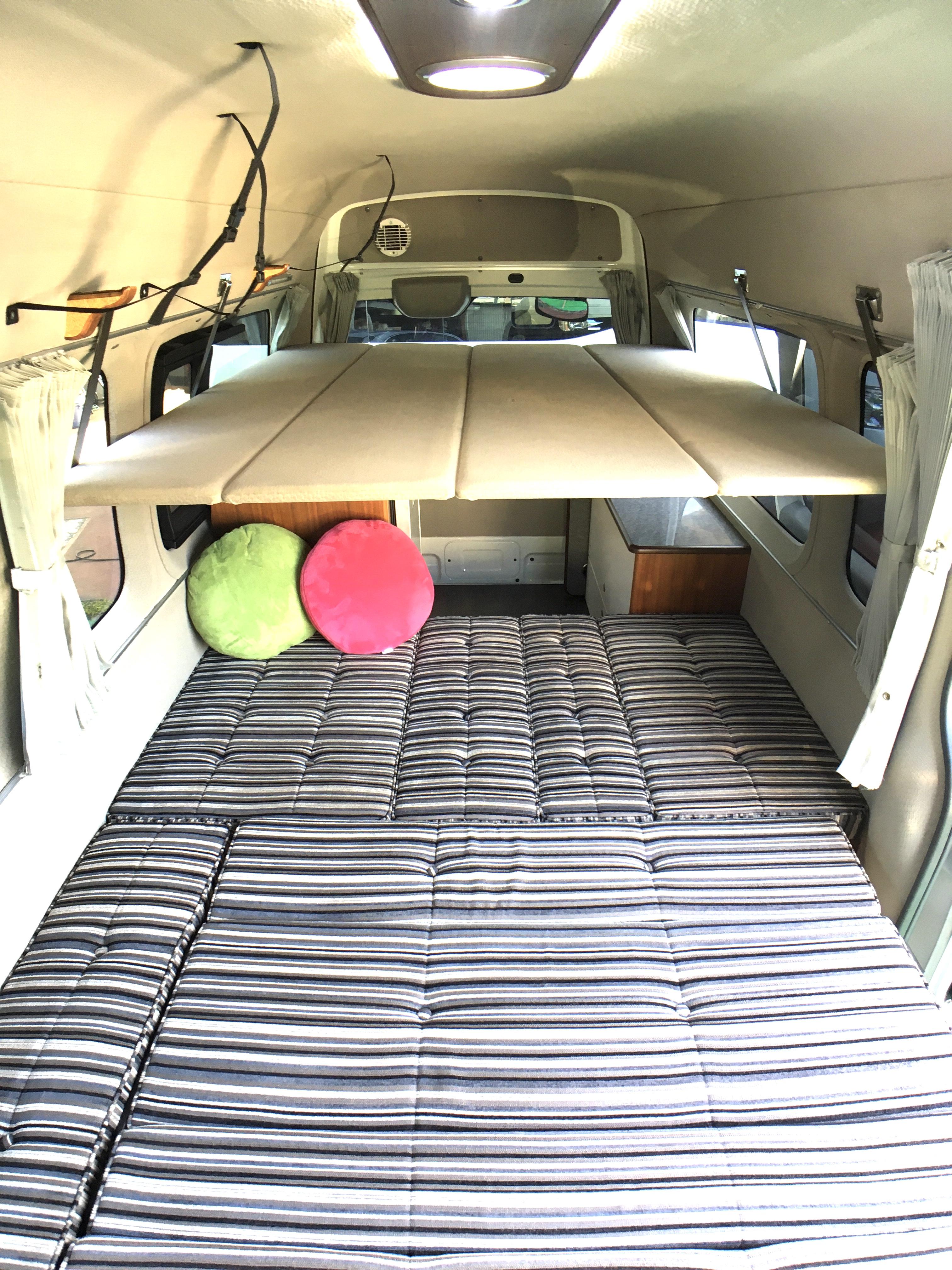 (3)内観 車中泊スペース