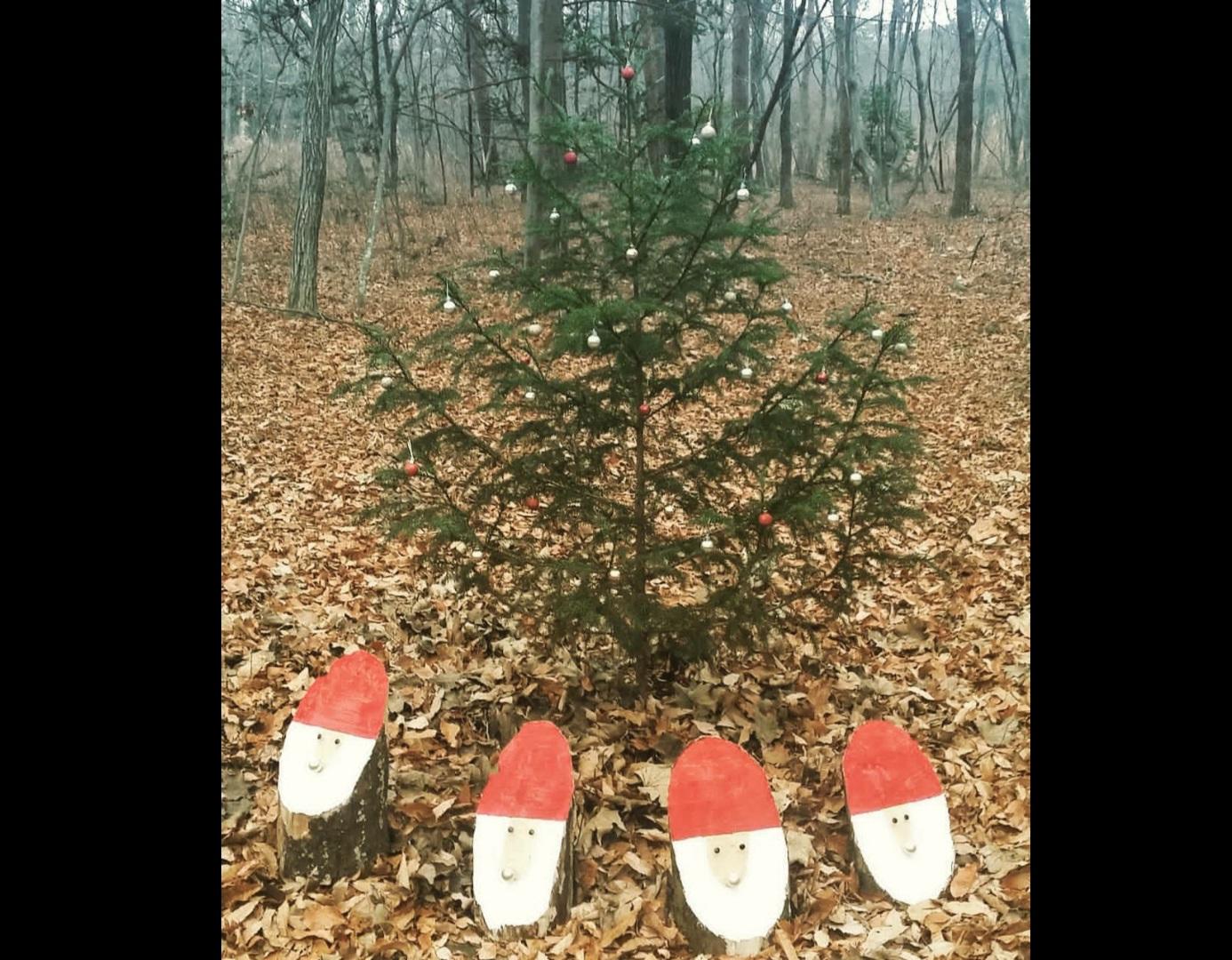 クリスマスのステーション