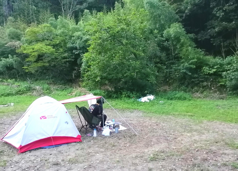 キャンプサイトCオープン 面積35m×20m