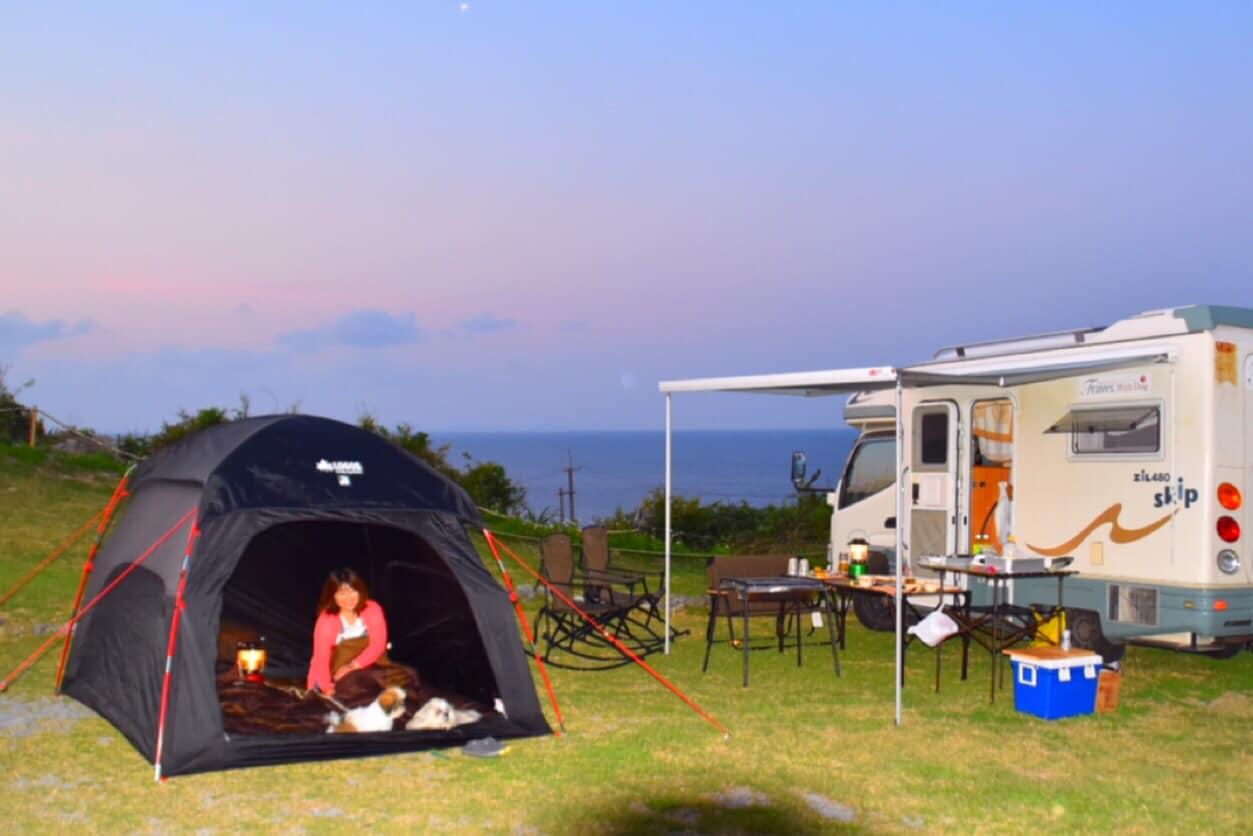 LOGOS社製テントの貸し出しも可能です。