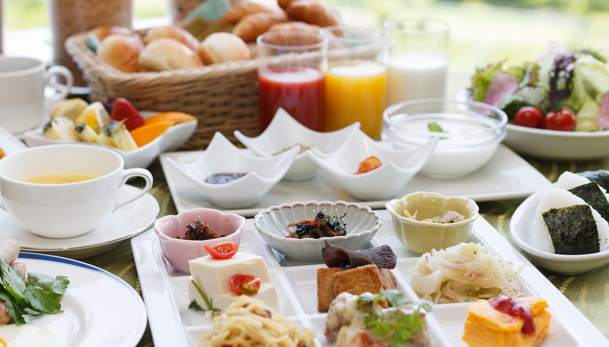 朝食ビュッフェ(ホテル)