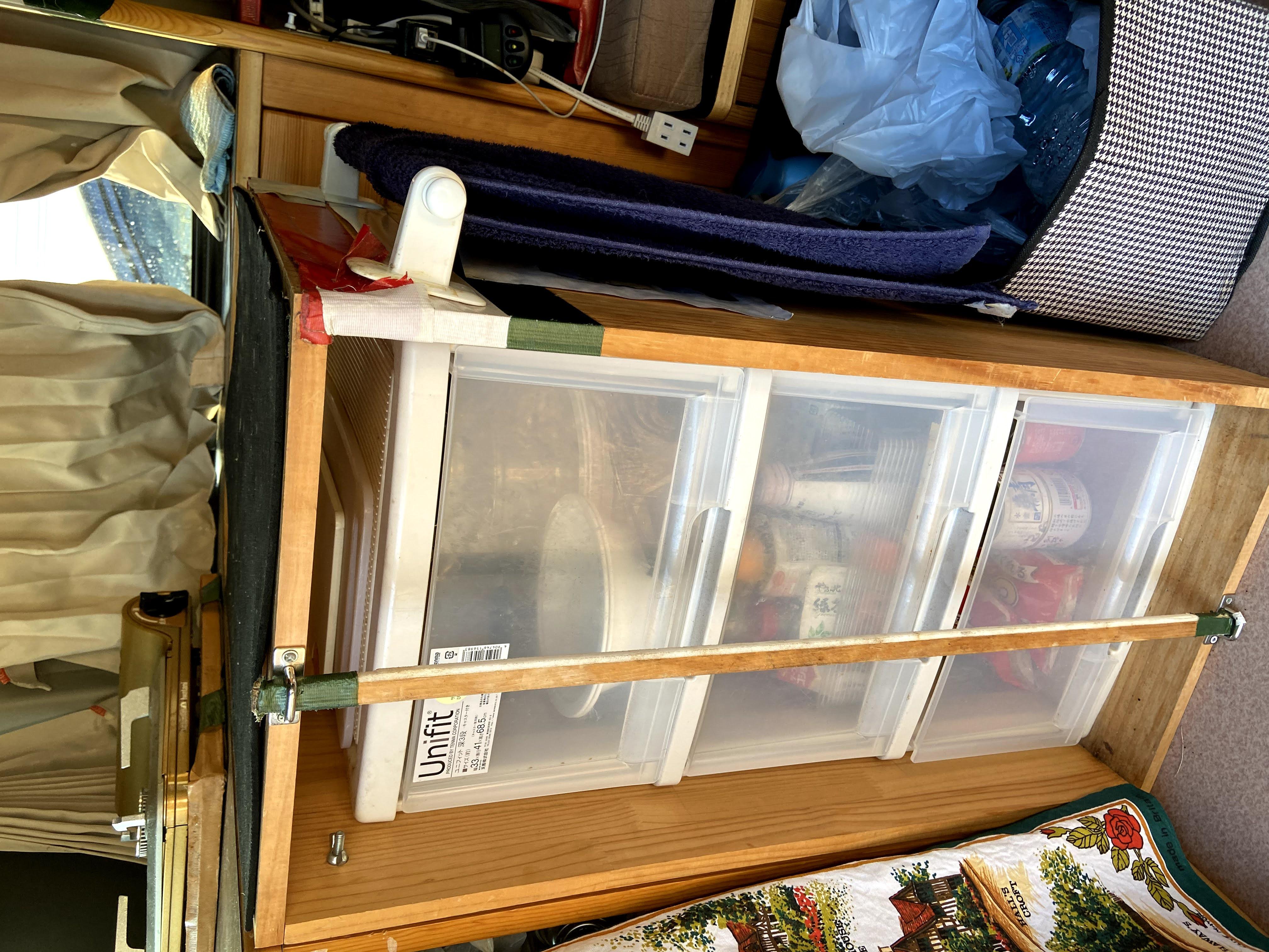 食品、食器、調理器の収納ケース
