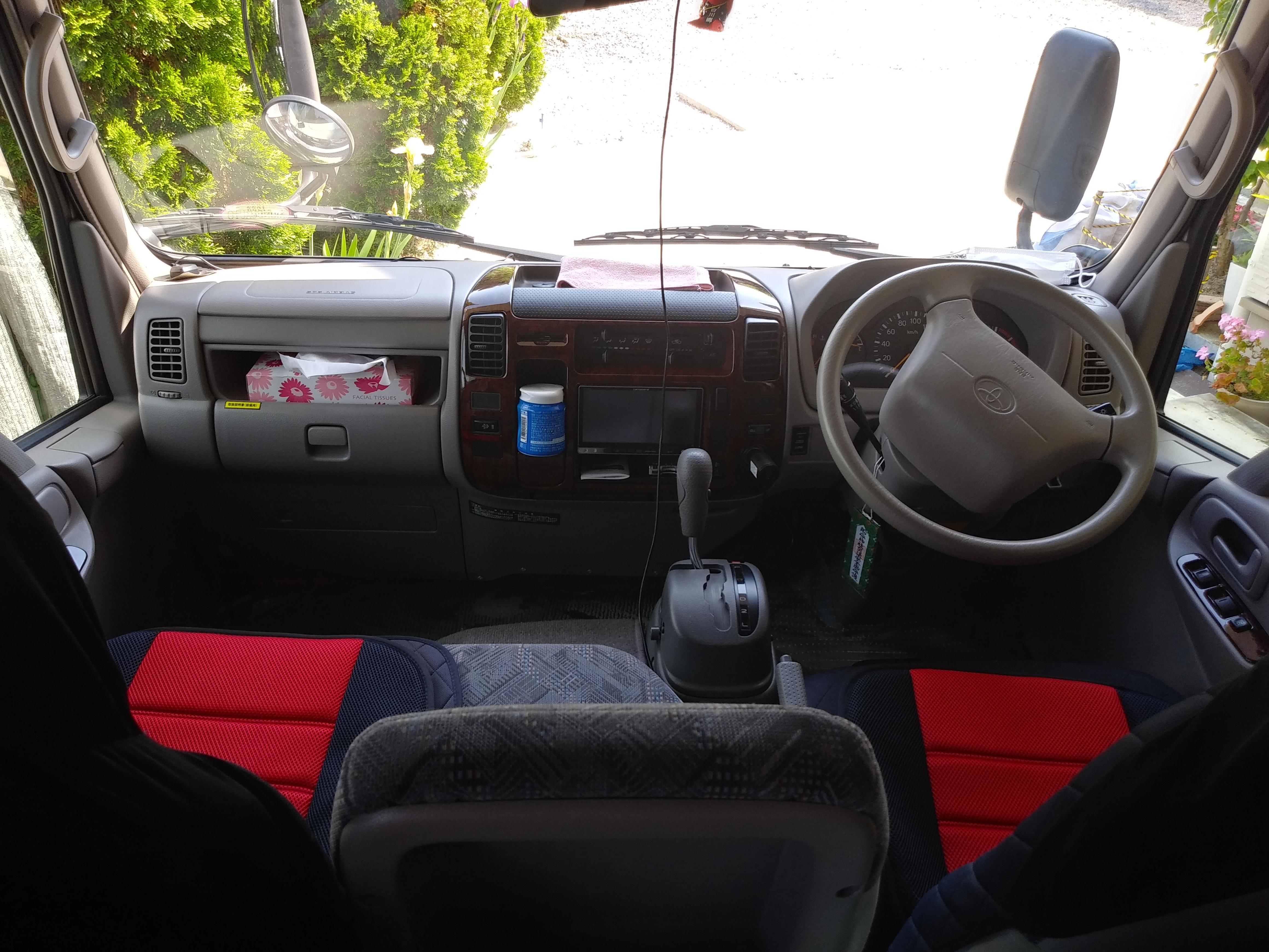 運転席+助手席