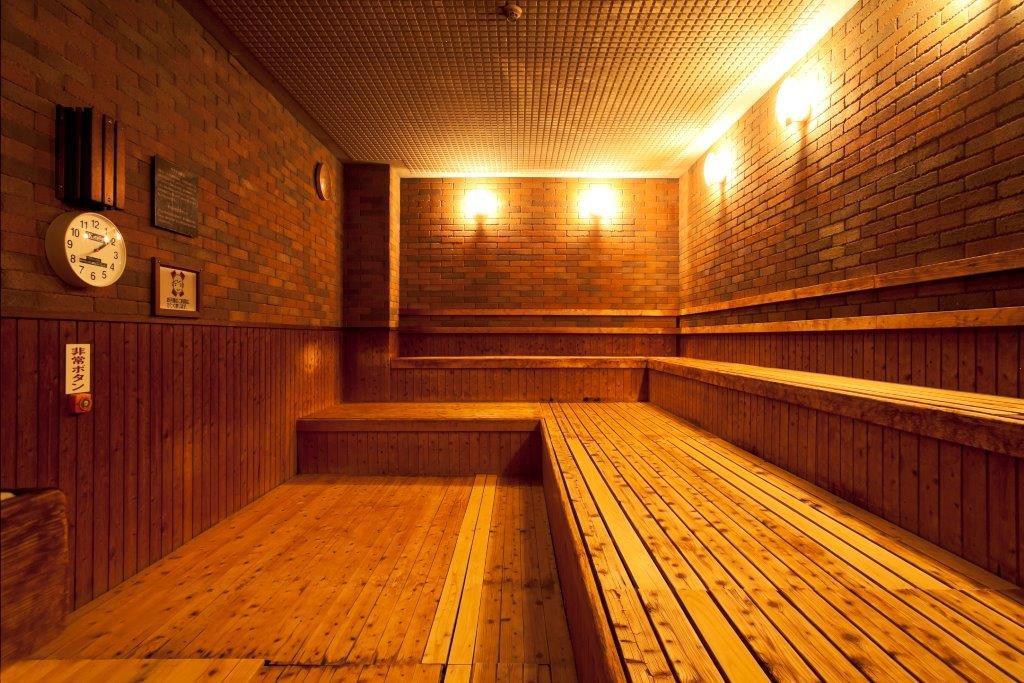男湯には高温サウナ・遠赤外線サウナ、女湯には遠赤外線サウナ・ミストサウナがあります。