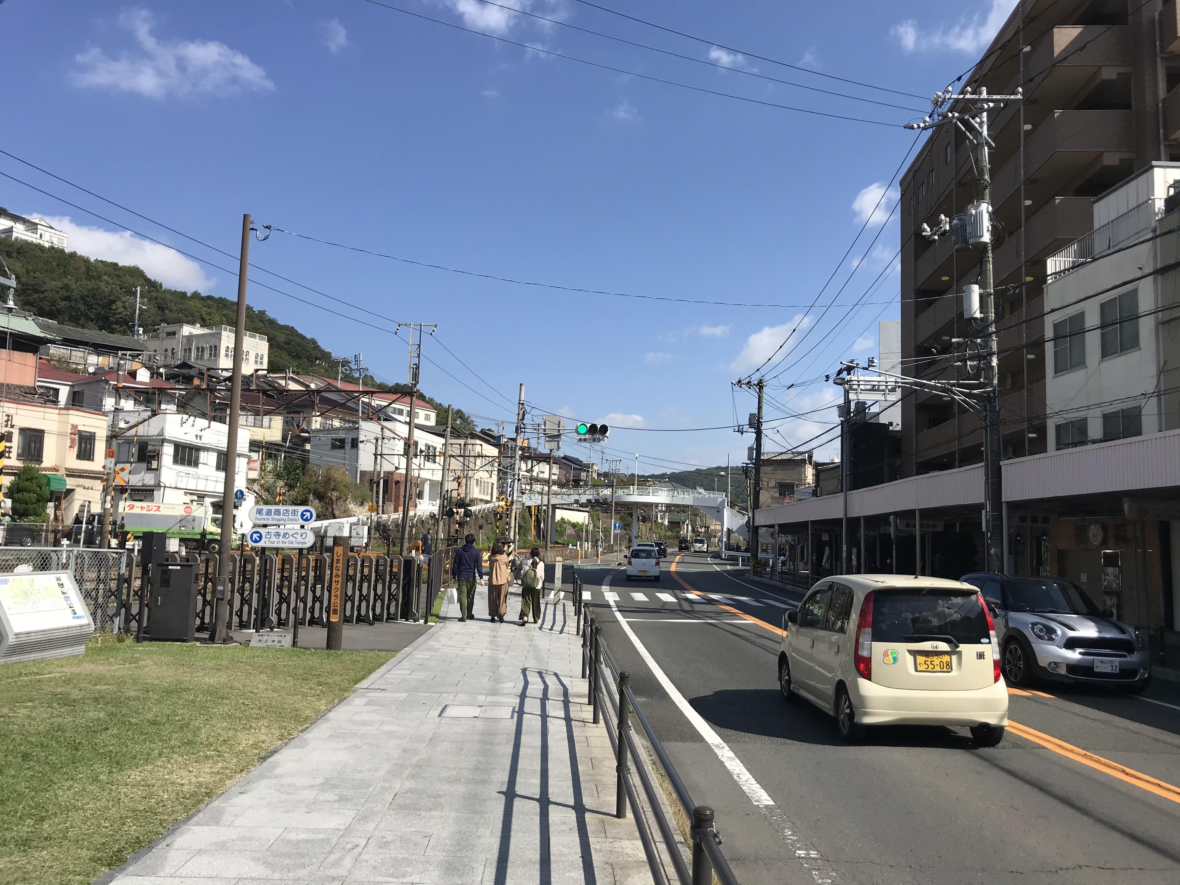 道順1,尾道駅から国道2号上り線を200m東進みます。